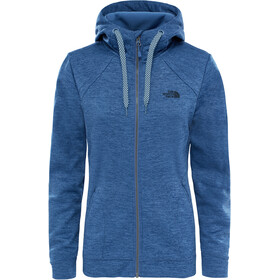 The North Face W's Kutum Full Zip Hoodie Coastal Fjord Blue Heather